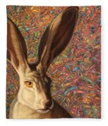 Background Noise Fleece Blanket