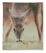 Backyard Beauty Fleece Blanket