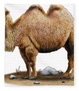 Bactrian Camel Fleece Blanket