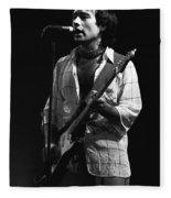 Bad Company Smokes Spokane 1977 Fleece Blanket