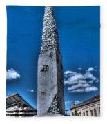 Badger Football Memorial Fleece Blanket