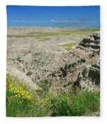 Badlands National Park  1 Fleece Blanket
