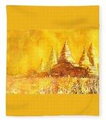Bagan Heat Fleece Blanket