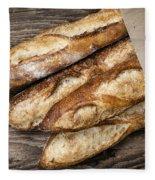 Baguettes Bread Fleece Blanket