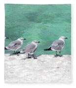 Bahama Birds Fleece Blanket