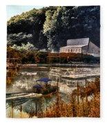 Bait Shop And Restaurant 02 Merged Image Fleece Blanket