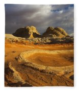 Baked Earth Fleece Blanket