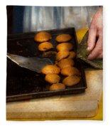 Baker - Food - Have Some Cookies Dear Fleece Blanket