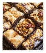 Baklava Desert Fleece Blanket