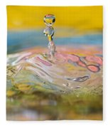 Balancing Act Fleece Blanket