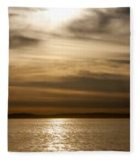 Balboa Gold Tones Fleece Blanket