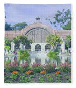 Balboa Park Botanical Garden Fleece Blanket