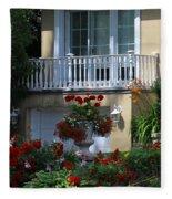 Balcony 3 Fleece Blanket