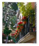 Balcony Fleece Blanket