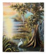 Bald Cypress Fleece Blanket