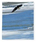 Bald Eagle 2832 Fleece Blanket