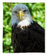 Bald Eagle - Alaska Fleece Blanket