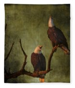 Bald Eagle Serenade Fleece Blanket