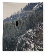 Bald Eagle V I Fleece Blanket