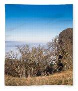 Bald Hills Vista Panorama Fleece Blanket