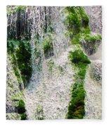 Bald River Falls Fleece Blanket