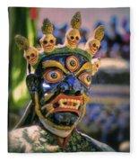 Bali Dancer 2 Fleece Blanket