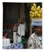 Bali Indonesia Proud People 2 Fleece Blanket