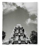 Bali Temple Fleece Blanket