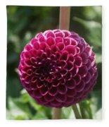 Ball Flower Fleece Blanket