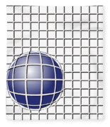 Ball In The Net Fleece Blanket