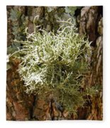 Ball Of Moss Fleece Blanket