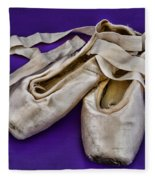 Ballerina Slippers Fleece Blanket