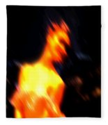 Ballet Blur 3 Fleece Blanket