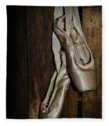 Ballet Shoes Fleece Blanket