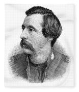 Ballington Booth (1865-1948) Fleece Blanket