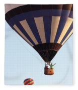 Balloon-2shotwave-7393 Fleece Blanket