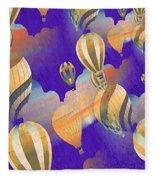 Balloon Fantasy Fleece Blanket