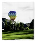 Balloon House Fleece Blanket
