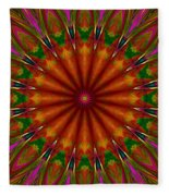 Balloon Kaleidoscope Fleece Blanket