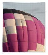 Balloon-purple-7457 Fleece Blanket