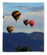 Balloon Rise Fleece Blanket
