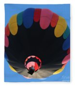 Balloon Square 1 Fleece Blanket