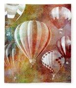 Balloons 3 Fleece Blanket