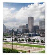Baltimore Maryland Fleece Blanket
