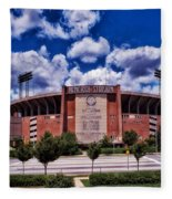 Baltimore Memorial Stadium 1960s Fleece Blanket