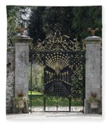 Bamberg Gate Fleece Blanket