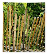 Bamboo Fencing Fleece Blanket