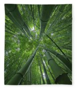Bamboo Forest 1 Fleece Blanket