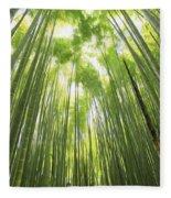 Bamboo Forest 5 Fleece Blanket