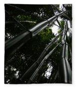 Bamboo Skies 4 Fleece Blanket